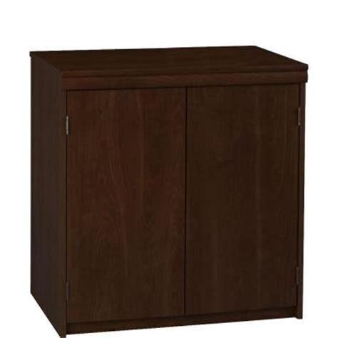 home depot storage cabinets with doors ameriwood 2 door office storage cabinet in resort cherry
