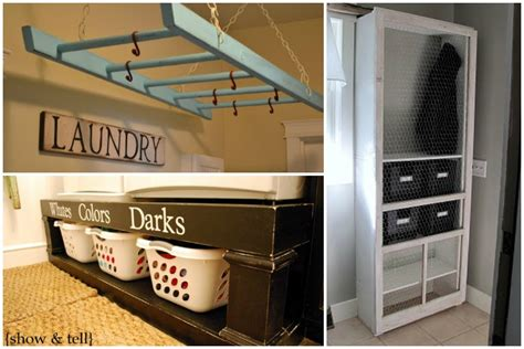 storage solutions for laundry rooms remodelaholic small laundry room makeover