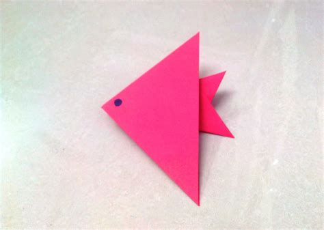 paper craft for with folding paper how to make an origami paper fish 1 origami paper