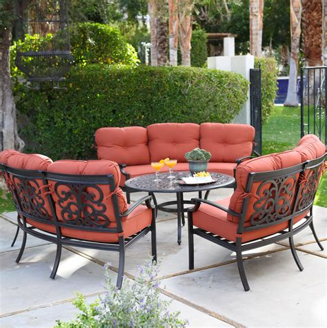 conversation sets patio furniture cast aluminum patio furniture conversation sets home