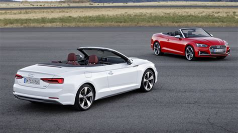 Audi A5 Cabriolet by 2017 Audi A5 S5 Cabriolet Debuts With Oh So Familiar Design