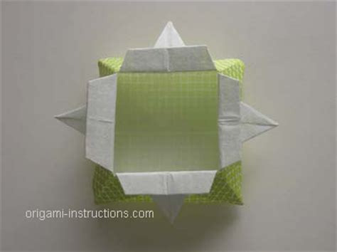 what can you make with origami how to fold a box origami food ideas