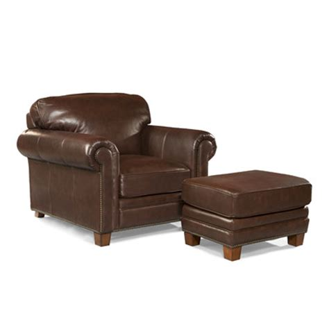 leather chairs and ottomans hillsboro leather arm chair and ottoman wayfair