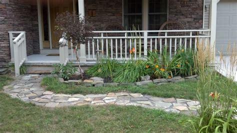 o brien landscaping specialize in flagstone patios walkways in corfu ny o