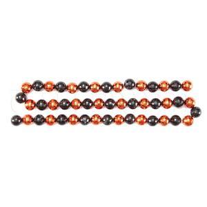 orange bead garland black orange bead garland