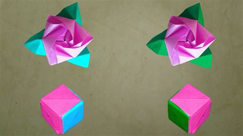 transforming origami how to make an origami magic cube diy origami
