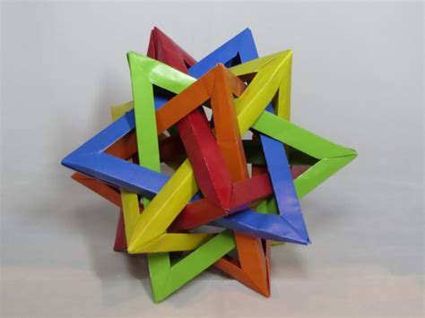 tetrahedra origami learn the of origami everywhere