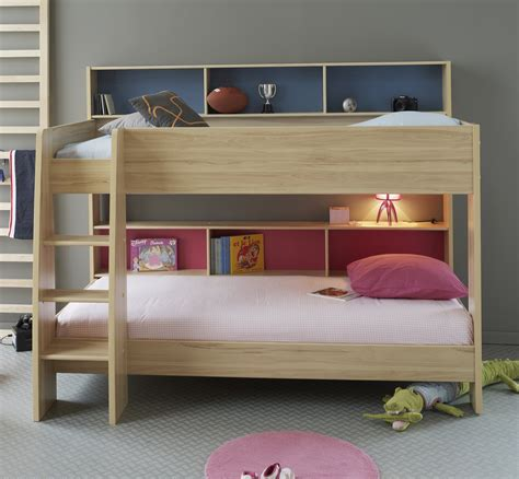 childrens bedroom sets bunk beds modern bedroom with unstained wooden oak bunk bed