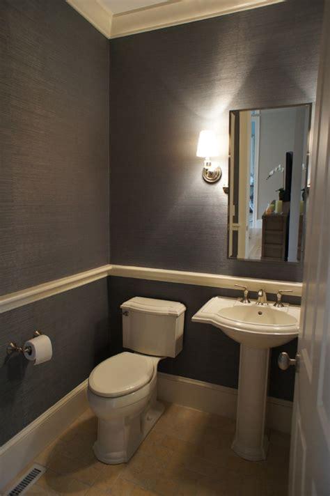 bathroom chair rail ideas twine how to update a 70 s bathroom