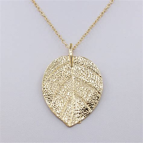 cheap for jewelry cheap costume jewelry gold color leaf design pendant
