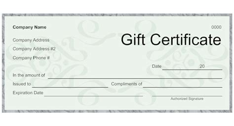 make your own gift card doc 558420 gift certificates bizdoska