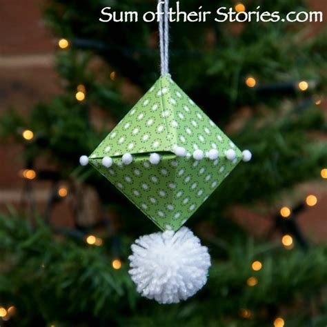 origami ornaments for origami tree ornament sum of their stories