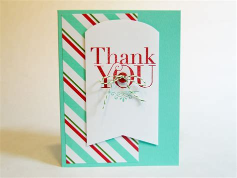 thank you card kits stin up simply created card kit card kit