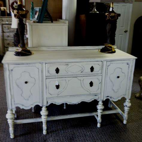 chalk paint buffet chalk painted and distressed buffet vintage