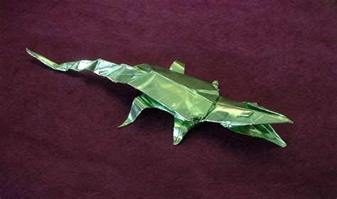 crocodile origami origami alligators and crocodiles gilad s origami page