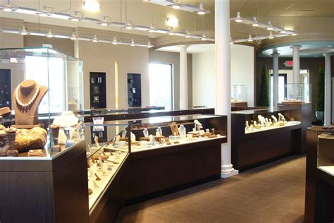 jewelry shop glennpeter jewelers thompson archinect