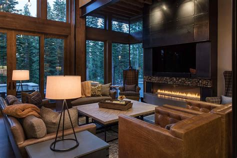 how to design your home interior lake tahoe getaway features contemporary barn aesthetic