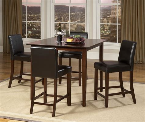 square dining room sets weitzman dining room set table square counter walnut