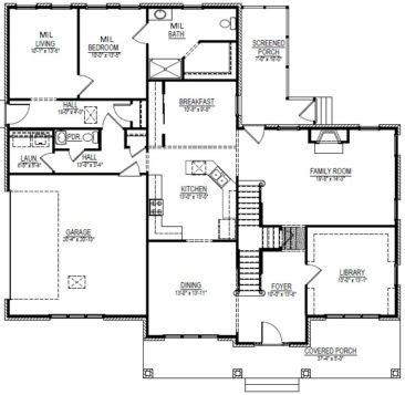 house plans with inlaw apartments in suite stanton homes