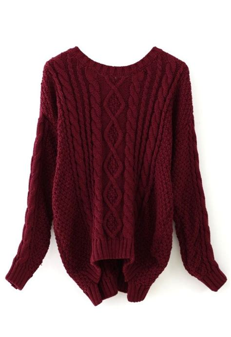 maroon cable knit sweater 25 best ideas about maroon sweater on winter