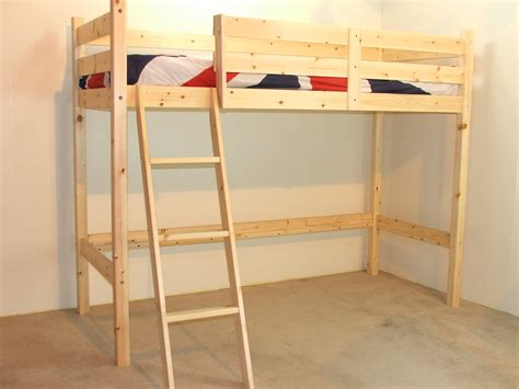 single bunk beds oscar 3ft single length pine low loft bunk bed no