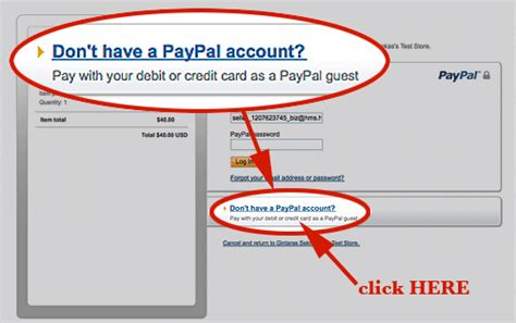 how to make payment using debit card how to pay via paypal using your credit or debit card