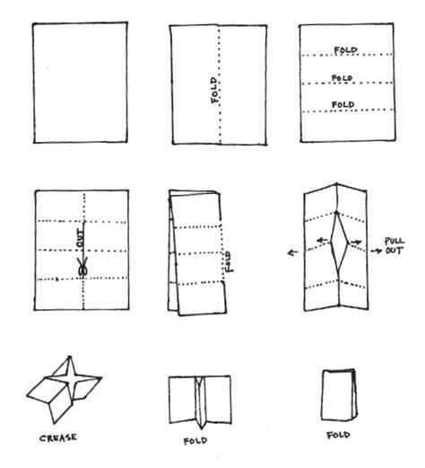 how to fold an 8 pages mini book paper pinterest
