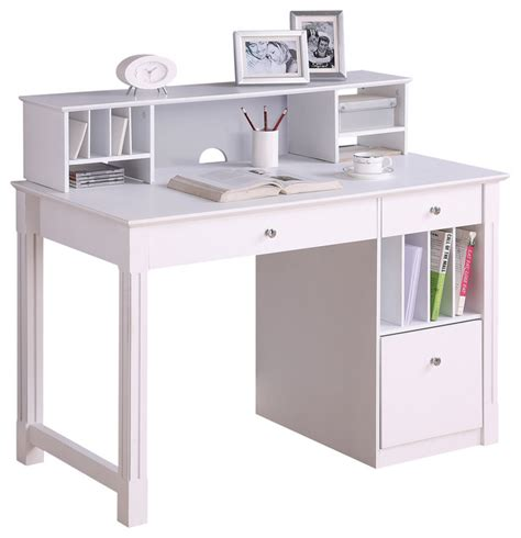 white computer desk with hutch white computer desks with hutch deluxe white wood