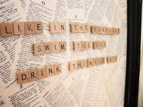 scrabble message board the remembered cottage make your own magnet board