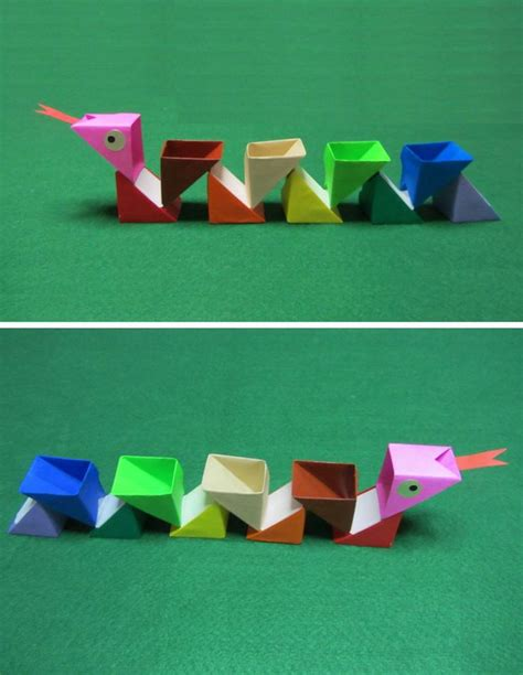 origami snakes 17 best images about origami on origami