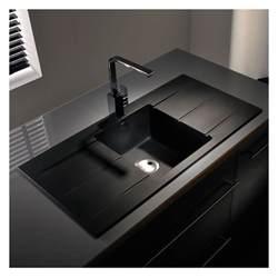 kitchen sink and drainer abode zero 1 0 bowl drainer granite sink sinks