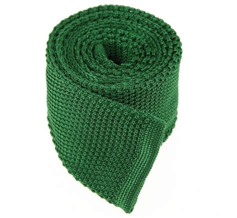 knitted green tie green knit tie green tie cravat the house of ties