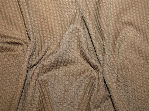 textured knit fabric textured stretch jersey knit dress fabric camel brown