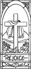 easter rubber sts easter cross clipart black and white easter day