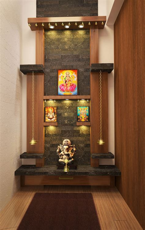pooja room woodwork designs cgarchitect professional 3d architectural visualization