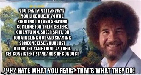 bob ross painting generator image tagged in bob ross world peace imgflip