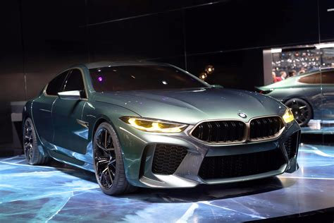 M8 Gran Coupe by Bmw M8 Gran Coupe Concept Unveiled At Geneva Evo