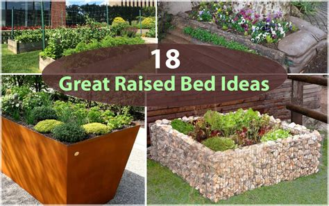 raised garden bed edging ideas 18 great raised bed ideas raised bed gardening balcony