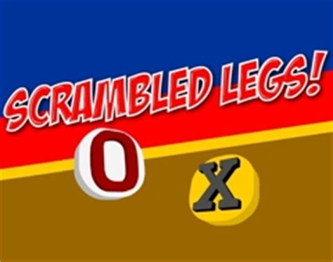 scrabbled legs football