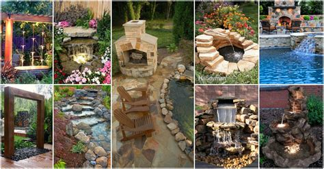 backyard pond ideas with waterfall garden design 10800 garden inspiration ideas