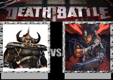 berserk oku raoh vs guts by gokuvssuperman117 on deviantart