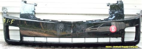 2003 Cadillac Cts Front Bumper by 2003 2007 Cadillac Cts Cts Front Bumper Cover Bumper