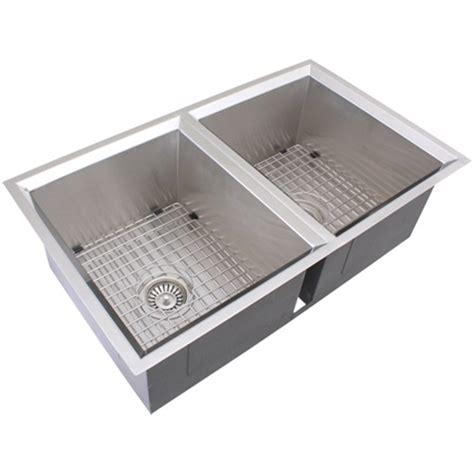 kitchen sink accessory ticor s308 undermount 16 stainless steel kitchen
