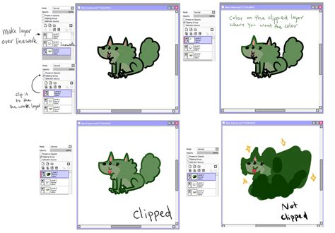 paint tool sai clipping tutorial sai clipping linework tutorial by kinla on deviantart