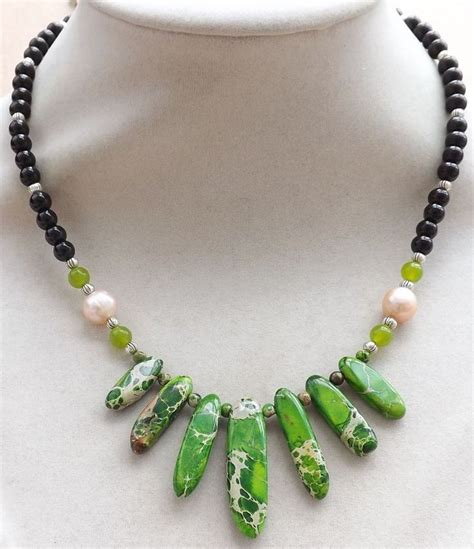 handmade bead necklace 25 best ideas about handmade necklaces on