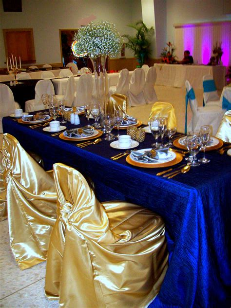 blue and gold decorations royal blue gold not center pieces decorations