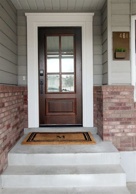 exterior door trim ideas 78 best ideas about door trims on craftsman