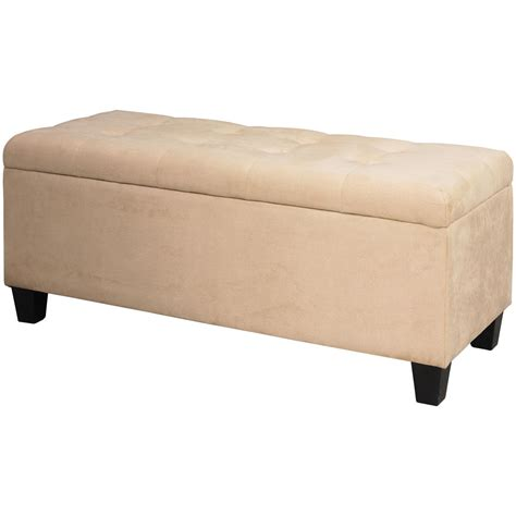 ottoman shoe storage linon shoe storage ottoman 609770 living room at
