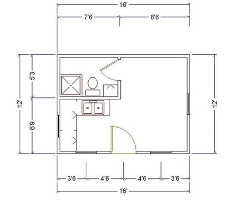 16 x 16 cabin floor plans 12 x 16 cabin 12x16 cabin floor plans the