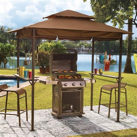 outdoor patio grill gazebo 30 grill gazebo ideas to up your summer barbecues